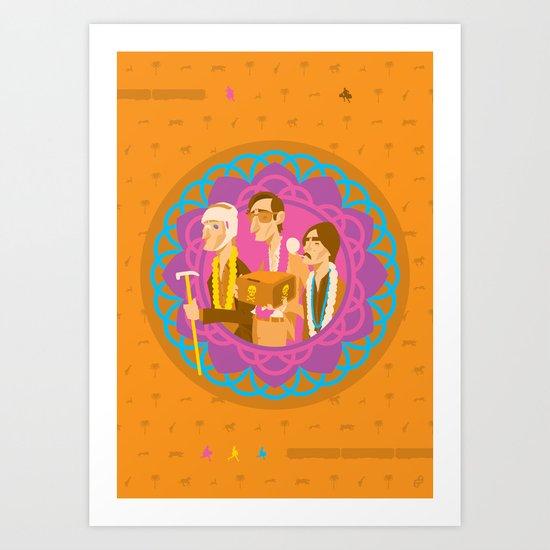 The Darjeerling Limited Art Print