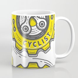 One Gear Cyclist Coffee Mug