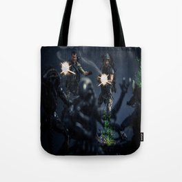 """""""SURROUNDED"""" Tote Bag"""