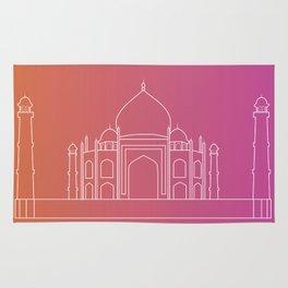 Taj Mahal Gradient Rug