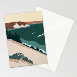 Minimalist Sleeping Bear Stationery Cards