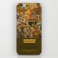 wes anderson iPhone & iPod Skins featuring Moonrise Kingdom - Wes Anderson by Smart Store