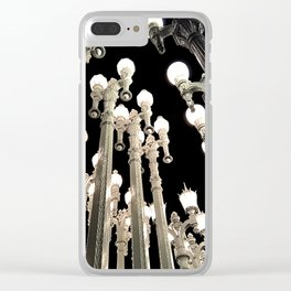 Lights in Lines 4 Clear iPhone Case