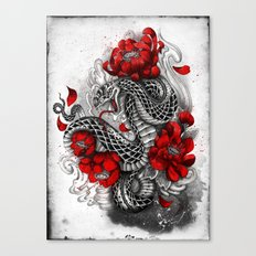 hebi Canvas Print