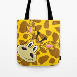 Cute Cartoon Giraffe Tote Bag