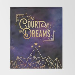 The Court of Dreams - ACOMAF Throw Blanket
