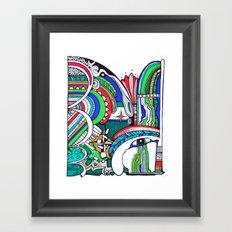 Omen Framed Art Print