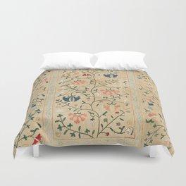 Uzbekistan Suzani Nim Embroidery Print Duvet Cover