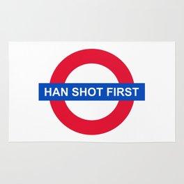 Han Shot First Rug