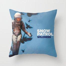 SNOW PATROL WILDNESS WORLD TOUR DATES 2019 KEMILING Throw Pillow