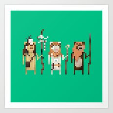 Tribal Leaders Art Print