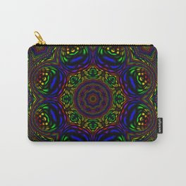 Rainbow Kaleidoscope 3 Carry-All Pouch