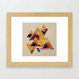 Tricertainty #2 Framed Art Print