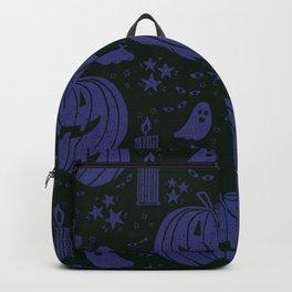 Spooky Halloween - violet Backpack