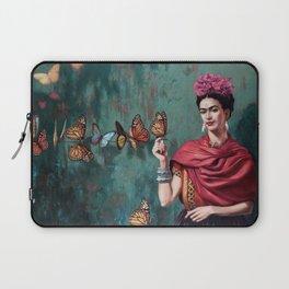 Frida Kahlo Butterfly Laptop Sleeve