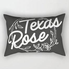 TEXAS ROSE (GREY) Rectangular Pillow