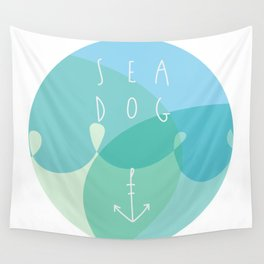 Sea Dog Wall Tapestry