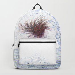 Feeling the Energy of the Sea Backpack