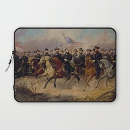 Grant and His Generals Painting Laptop Sleeve