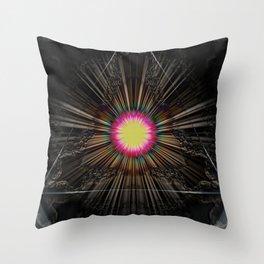 Triangle of light. Throw Pillow