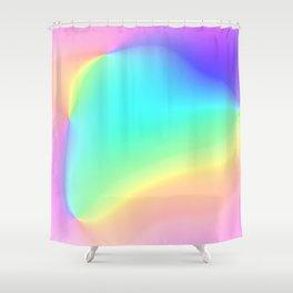 Prismatic Rainbow Design! Shower Curtain