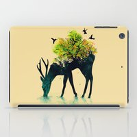 water iPad Cases featuring Watering (A Life Into Itself) by Picomodi