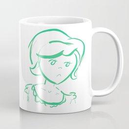 Downcast In Green Coffee Mug