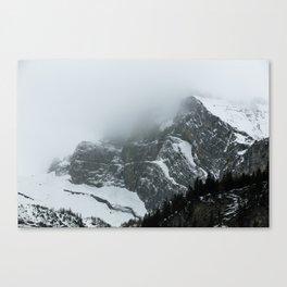 Swiss Fog VIII Canvas Print