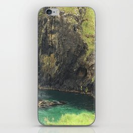 View From Carrick Rope Bridge iPhone Skin