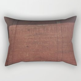 Old Montreal Painted Wall Rectangular Pillow