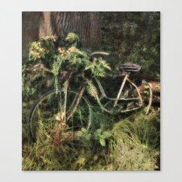 Under the Oak Tree Canvas Print