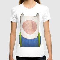 finn T-shirts featuring finn by MAKE ME SOME ART