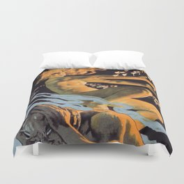 Italian society for the hygienic matches without phosphorus Duvet Cover