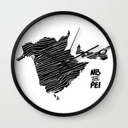 Canadian Improv Games - NB & PEI 2017 Wall Clock