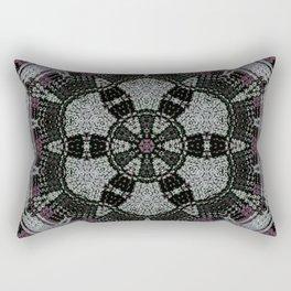 Dot Fourier Mandala 1 Rectangular Pillow