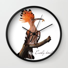 Early bird Wall Clock