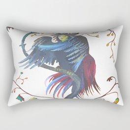 Gamaun Halloween Prophetic Raven Vector Rectangular Pillow