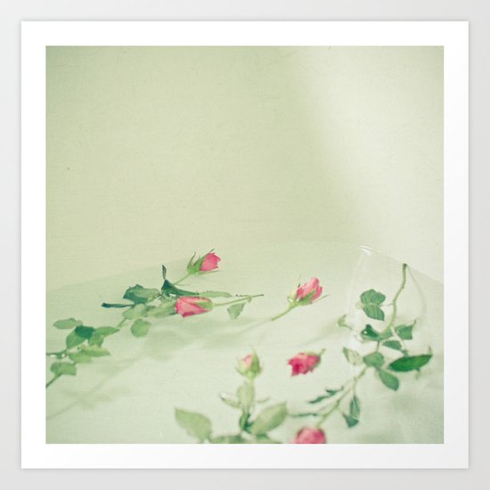 Floating Away Art Print