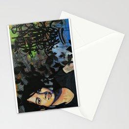 mariposas negras  Stationery Cards