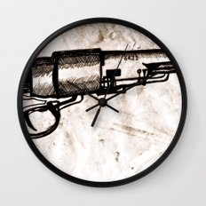 American Pistol II Wall Clock