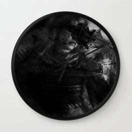 And Cloaked Fangs Wall Clock