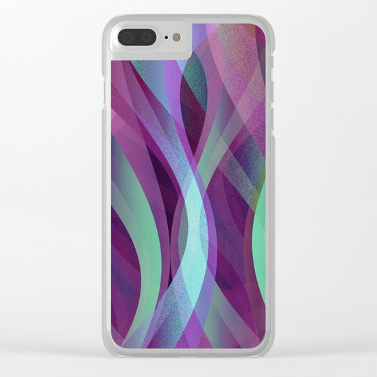 Abstract background G134 Clear iPhone Case