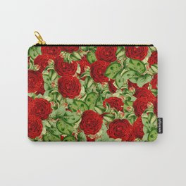 Painting the Roses Red Carry-All Pouch