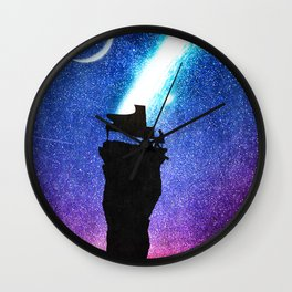 A Symphony for the Stars Wall Clock