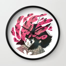 Nature vs Nurture Wall Clock