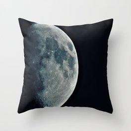 Moon2 Throw Pillow