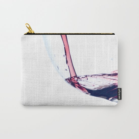 Red Wine Splash Carry-All Pouch