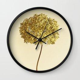 East Flower Rustic Wall Clock
