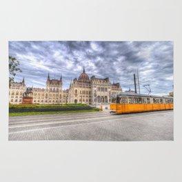 Parliament Of Budapest Rug