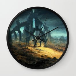 Gate to Nowhere Wall Clock